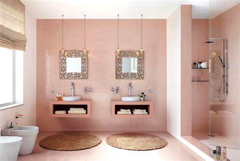 interesting bathroom ideas pink bathroom decorating ideas bathroom design ideas