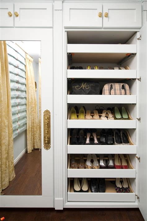 built in shoe storage built in closet shoe rack roselawnlutheran