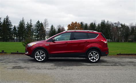 Ford Escape Titanium by Review 2016 Ford Escape Titanium Canadian Auto Review
