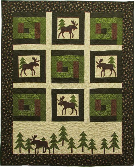 Benartex Whole Cloth Quilts by Moose On The Benartex