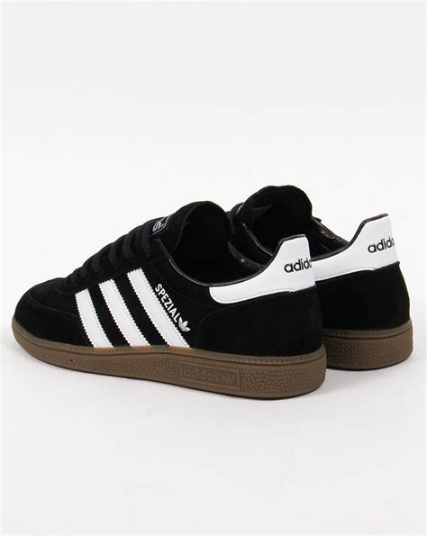 black and white patterned adidas trainers adidas spezial trainers black white originals shoes mens
