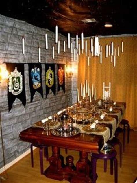 hogwarts dining room themed party harry potter on pinterest harry potter