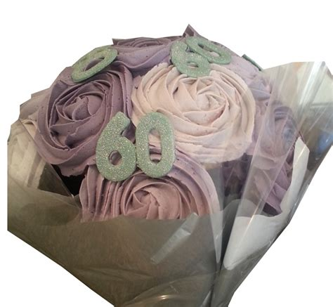 60th Birthday Bouquet With Frooties 60th Birthday Cupcake Bouquet Birthday Ideas