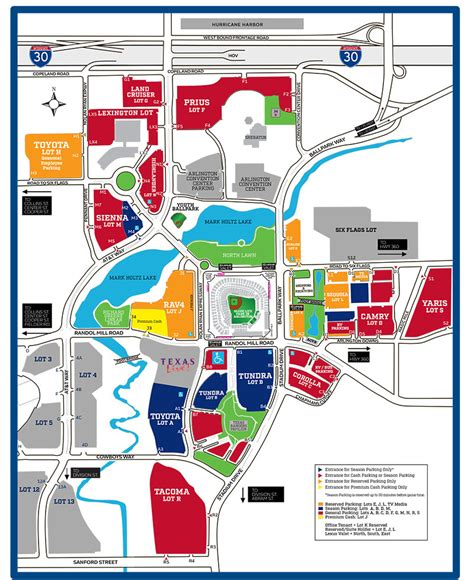 texas rangers parking map globe park parking map texas rangers