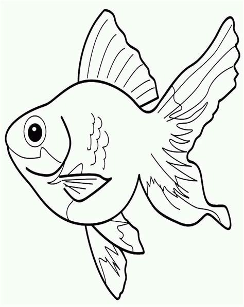 Kumpulan gambar untuk Belajar mewarnai: Gambar Ikan Untuk