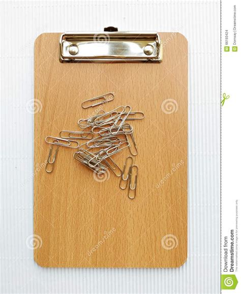 writing board papers writing board and paper clip stock photo image 66193424