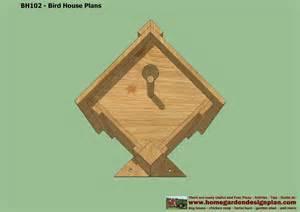 Bird House Plans For Sparrows Wood Design Pigeon Bird House Plans