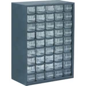 flambeau u45p 48 drawer plastic cabinet 12 quot x 6 1 4 quot 16 1