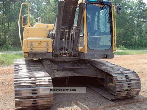 volvo ec blc  caterpillar digger construction equipment photo  specs