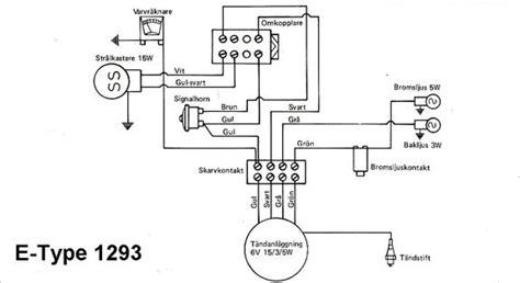 kopplingsschema till flakmoped experten