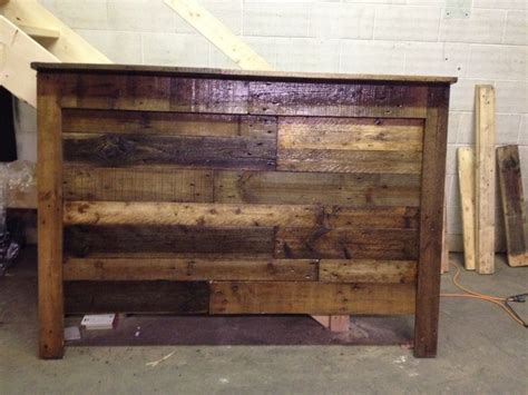 Wood Pallet Headboard Diy Pallet Wood Headboard I Built It Pinterest Diy And Crafts Diy Pallet And Pallets