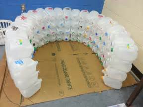 igloo made out of gallon jugs pictures surviving a