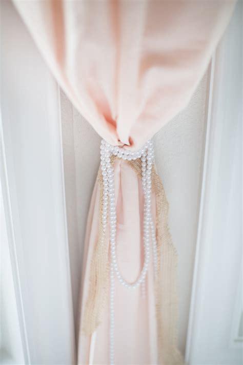 Cribspiration A Classic Girl Nursery Baby Aspen Blog Tie Backs For Nursery Curtains