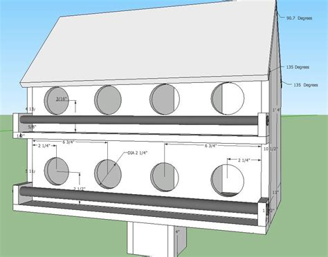 purple martin house plans free new martin bird house plans new home plans design