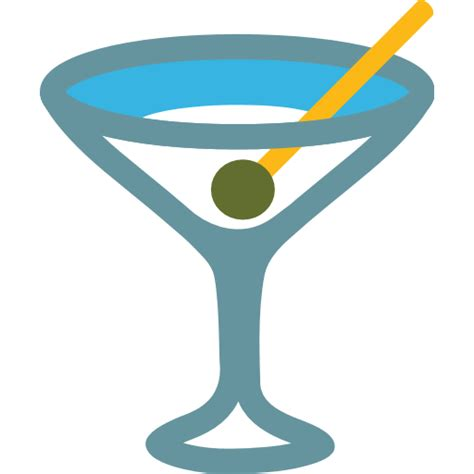 drink emoji cocktail glass emoji for email sms id 8472