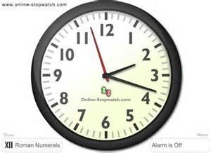 Online Clock by Online Alarm Clock Lunaclock Com