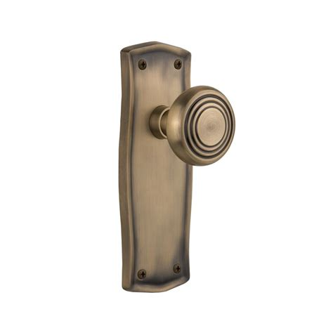 Best Door Knobs Brand by Defiant Brand Wine Antique Brass Dummy Knob T8840 The