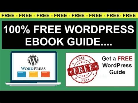 wordpress tutorial in pdf free wordpress ebook guide wordpress tutorial pdf