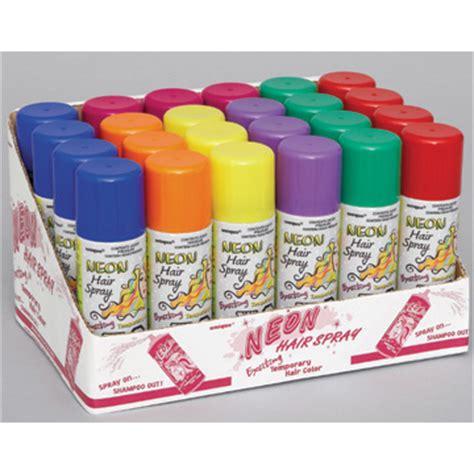 colored hair spray bulk colored hair spray supplies neon hair spray