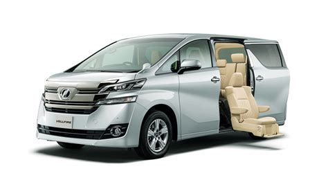toy0ta toyota unveils alphard and vellfire minivans in