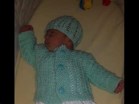 video tutorial merajut sweater como tejer gorro de beb 233 recien nacido para principiantes