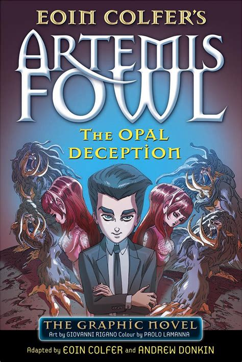 artemis a novel books af the opal deception graphic novel artemis fowl