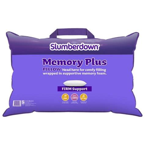 Tesco Memory Foam Pillow by Buy Slumberdown Memory Foam Pillow From Our Pillows Range