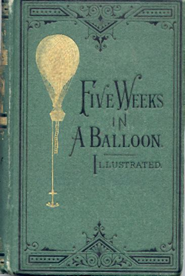 five weeks in a balloon by jules verne bookworm burrow