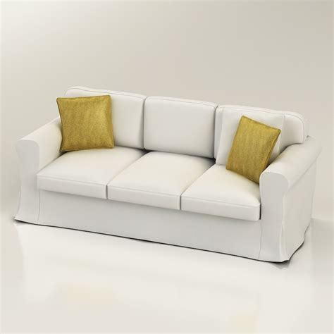 ikea couch quality 3d ikea ektorp sofa high quality 3d models