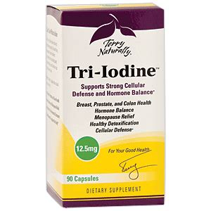 How Does Bromide Detox Last by Terry Naturally Tri Iodine 90 Capsules Save 20