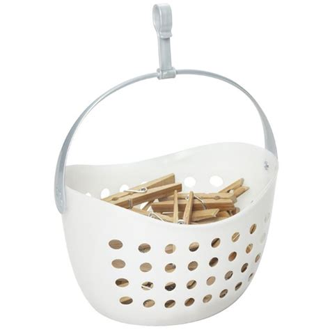 Container Store Shower Curtain by The Container Store Gt Clothespin Caddy Decor Accessories