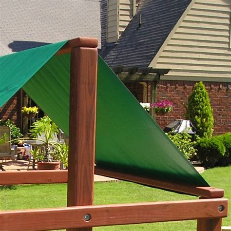 swing set shade vinyl tarps and canopies solid vinyltarps