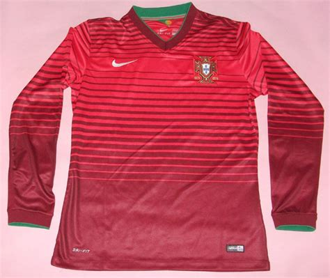 Portugal Away Pi 2014 world cup portugal 7 figo away white soccer sleeve shirt kit nflwholesale