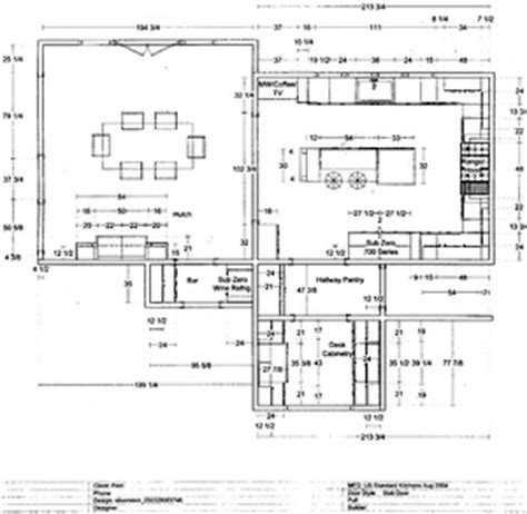 kitchen layout notes notes on a kitchen design career the kitchen designer