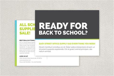 Bold Back To School Postcard Template Inkd Back To School Postcard Template