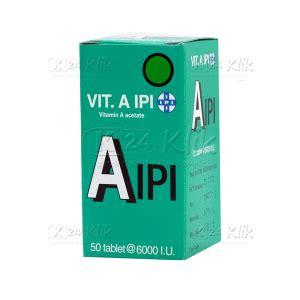 Ipi Vitamin E jual beli vitamin a ipi tab 50s k24klik