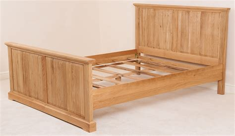 king size wood bed frame aspen solid oak wood 6ft super king size bed frame bedroom