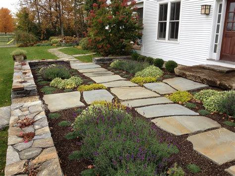 mesmerizing innovative paved garden designs inspired flagstone pavers technique burlington farmhouse