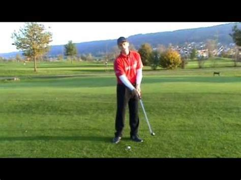 youtube golf swing lessons how to cure hitting fat thin shots golf swing lessons
