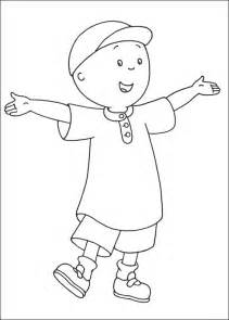 free printable coloring pages free printable caillou coloring pages for