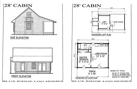 small log cabin blueprints small log cabin homes floor plans small log home with loft
