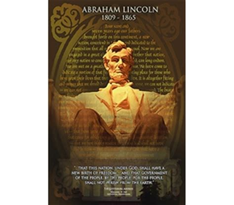 make a poster about abraham lincoln gettysburg address abraham lincoln wall poster the gettysburg address decor