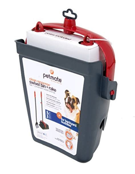 Waste Management Sweepstakes - petmate clean response waste management system red dark grey mypointsaver