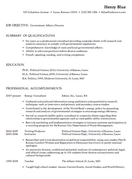 inspiring government resume exles job description