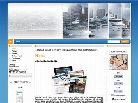 Paket 75rb niadesain jasa pembuatan website murah hanya rp 75rb