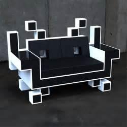 gaming sofa space invader
