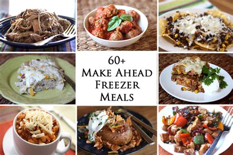 prepare ahead dinner barefeet in the kitchen 60 make ahead freezer meals