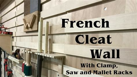 french cleat tool wall build woodworking shop