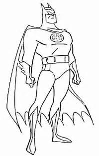batman colors coloring pages