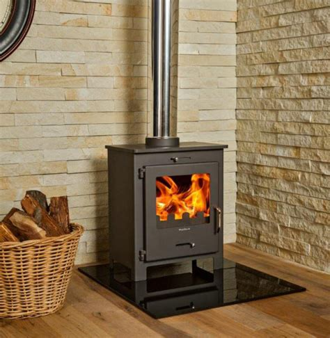 wood burning fireplaces nero 6 8kw